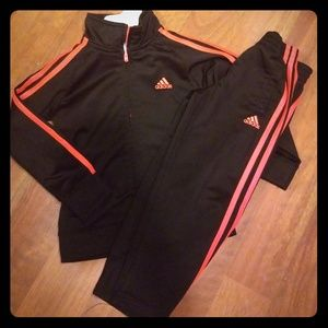 Adifas track suit